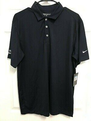 Exxon Mobil Rewards Men Short Sleeve Dri-Fit Golf Polo Shirt XL Nike NEW TAGS