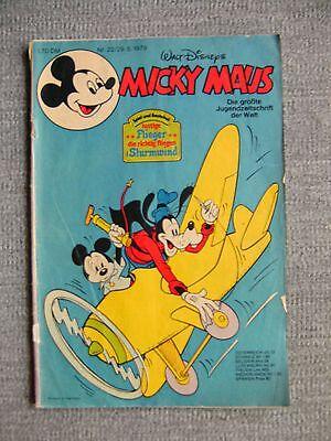 Micky Maus Hefte, Nr. 22  / Jahrg.1979 ,  Comics, Walt Disney,