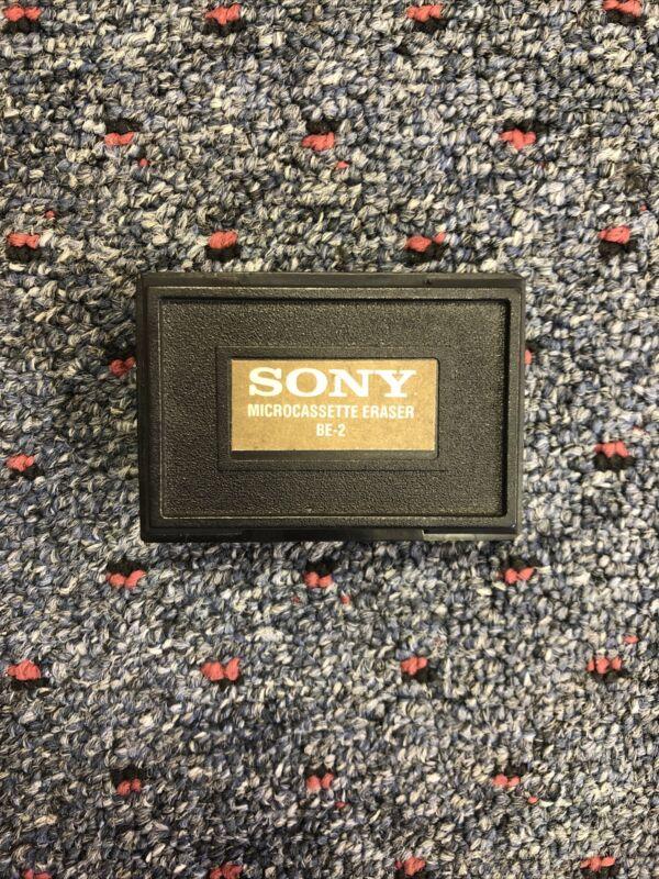 Sony Micro/Mini Cassette Tape Eraser