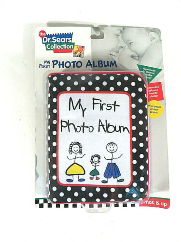 My First Cloth Photo Baby Album The Dr. Sears Collection 3 Months & Up