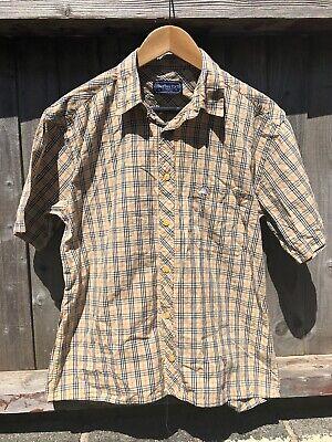 VINTAGE Burberry Short Sleeve Nova Check Shirt