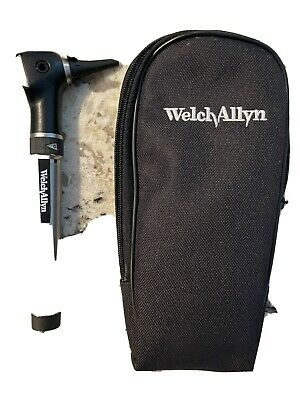 Welch Allyn Otoscope With Hpx Halogen Lamp 25020