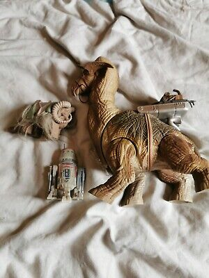 Star Wars Toys figures. R5 d4. Bantha
