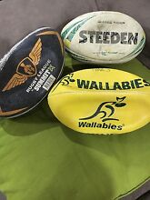 Used Rugby balls (SOLD pending pickup) Willow Vale Gold Coast North Preview