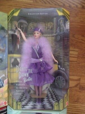 Dance 'Til Dawn 1920s Flapper Barbie 1998 2nd Great Fashions the 20th Century