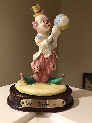 Da Vinci Collection Clown Figurine by Leonardo for sale  Hillsboro