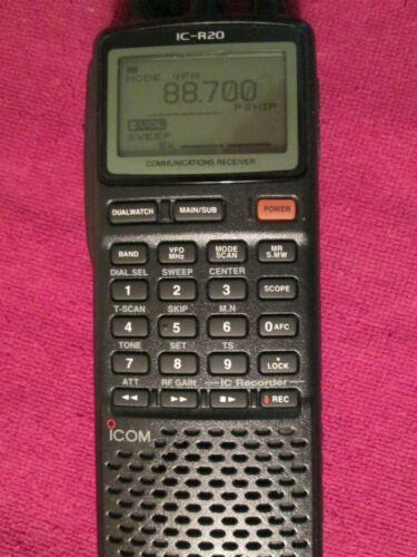 Icom IC-R20 Communications Receiver Scanner R30