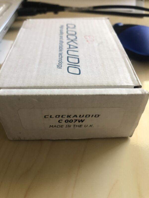 ClockAudio C 007W Ceiling Mount Omni-directional Condenser Microphone, Tested
