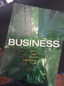 Business Text for Dalhousie Course