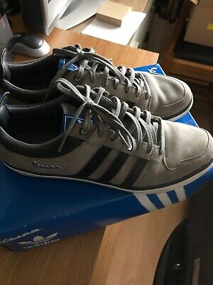 Adidas Vespa GS II Lo Grey Trainers Size Uk 9.5 With Box