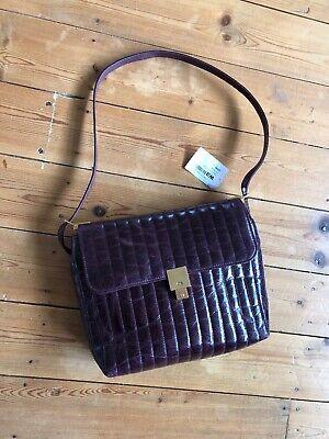 Victoria Beckham Bag Quinton Dark Barolo VB Victoria Beckham Designer Handbag