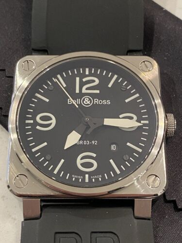 Bell&Ross BR03-92 Date black Dial Automatic Men's Watch - watch picture 1