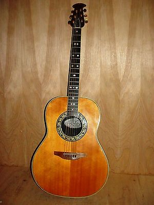 1970 Ovation Glen Campbell 6 String Acoustic Only Guitar, Case
