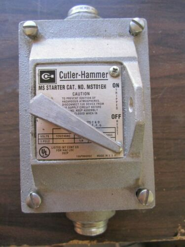 Cutler Hammer MST01EH Explosion proof Switch & Box