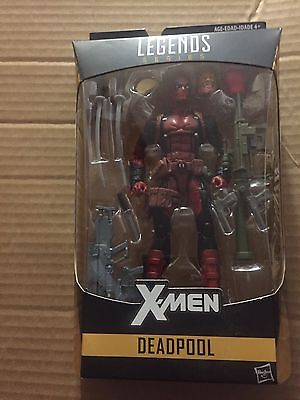 Marvel Legends Deadpool action figure Juggernaut BAF series moc x men