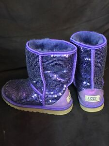 (Special) Ugg Boots, Purple Sequence