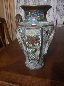 A Cloisonne Vase a very scarce vase Meadow Heights Hume Area Preview
