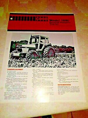 1690 Transport Case (david brown case tractor 1690   sales brochure )