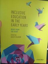 Inclusive Education in the Early Years: Right from the Start Greenfield Park Fairfield Area Preview