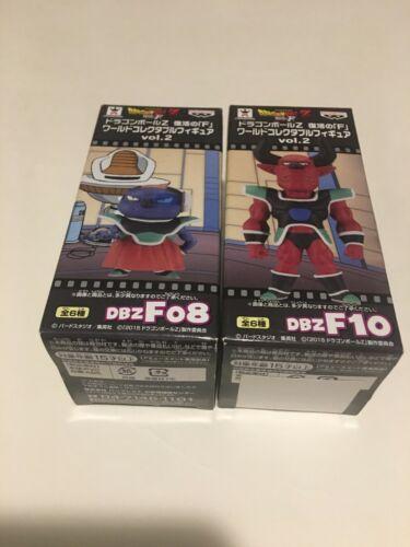 Dragon Ball Z WCF Sisami & Sorbet Figures