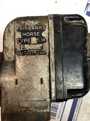 Used Vintage Fairbanks Morse Type Fm J Magneto 4 Cyl W Cap