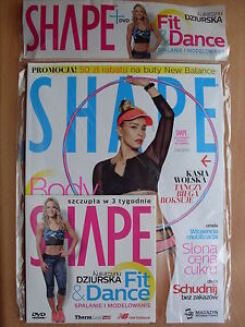 SHAPE Poland 4/2016,April 2016 DVD Katarzyna Dziurska - Fit & Dance! - Czestochowa, Polska - SHAPE Poland 4/2016,April 2016 DVD Katarzyna Dziurska - Fit & Dance! - Czestochowa, Polska