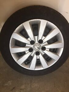 4 new Nissan centra 2015 tires with Rims