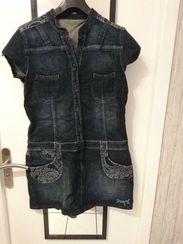 Robe desigual  en jeans t46