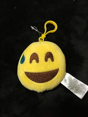 Laughing with Tear Emoji Cushion Keychain](Laughing With Tears Emoji)