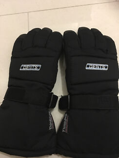 99% new DENTS thinsulate thermal insulate  ski gloves