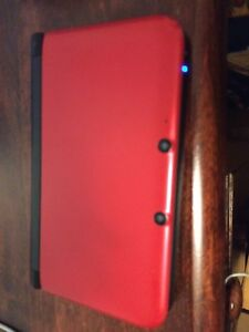 Nintendo 3ds XL Limited Red & Black Edition w/ 6 games