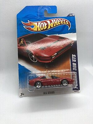 Hot Wheels All Stars Ferrari 308 GTS. 2010 Hot Wheels.nip