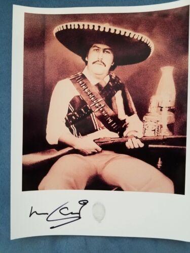 Narcos - ROBERTO  ESCOBAR auto autographed Gaucho signed 8x10 PABLO Escobar pic