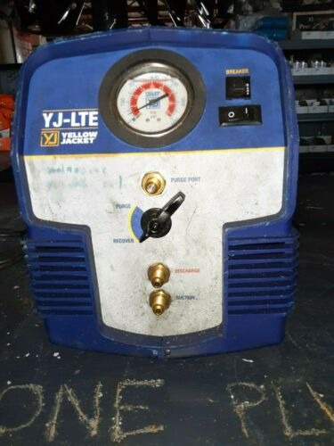 Yellow Jacket 95730 YJ-LTE Refrigerant Recovery Unit