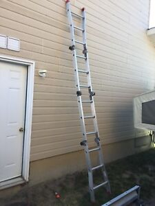 FeatherLite Aluminum Combination Ladder