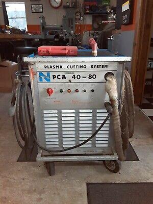 Nutec Nu-tecsys Pca 40-80 Plasma Cutter