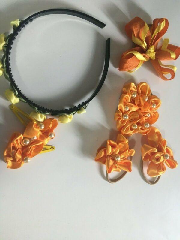 handmade+oranges+and+lemons+girls+hair+jewellery+bands+clips