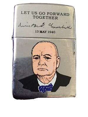 Zippo Lighter Winston Churchill 13th  May 1940  Unboxed