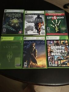 XBOX 360 games - selling as a lot!