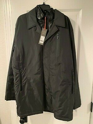 T-Tech by Tumi Men's 8T-6002PM Windbreaker Jacket Slate Gray Size L Fountain Large Lightweight Slate
