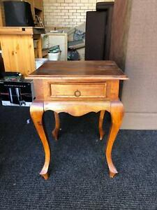 Small Wooden Side Table 540x540x700 high