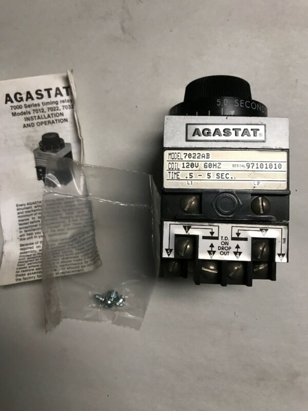 AGASTAT 7022AB Timing Relay