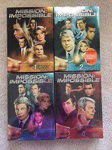 Mission Impossible TV series DVD- seasons 1-4