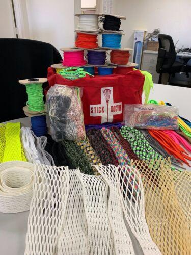 Lacrosse Stringing Setup & Stick Doctor Bag