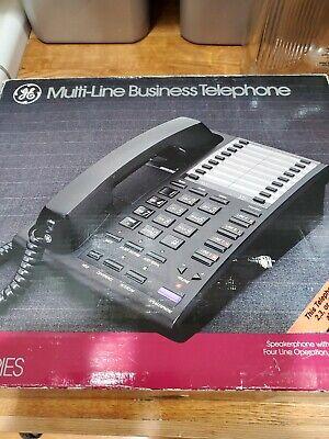 New In Box Ge Multi-line Business Telephone 2-9450 Desktop Phone 4 Line Capacity