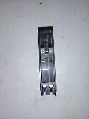 New Square D Qo2020 20a Twin Circuit Breaker No Hook