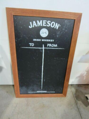 Large Jameson Irish WhiskeyChalk Board Sign NIB