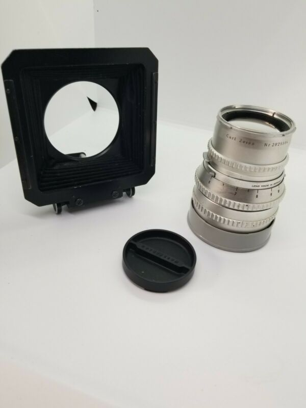 Hasselblad Carl Zeiss Sonnar C  150mm f/4 Lens Pro Shade Caps warranty