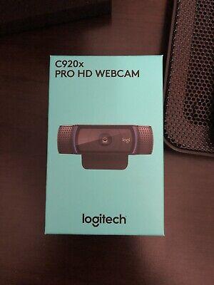 Logitech C920x Pro HD Webcam Black Brand New *IN HAND* (Free Shipping)