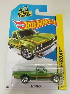2015 Hot Wheels Datsun 620 Green #125 HW Offroad *Look @ Pics*